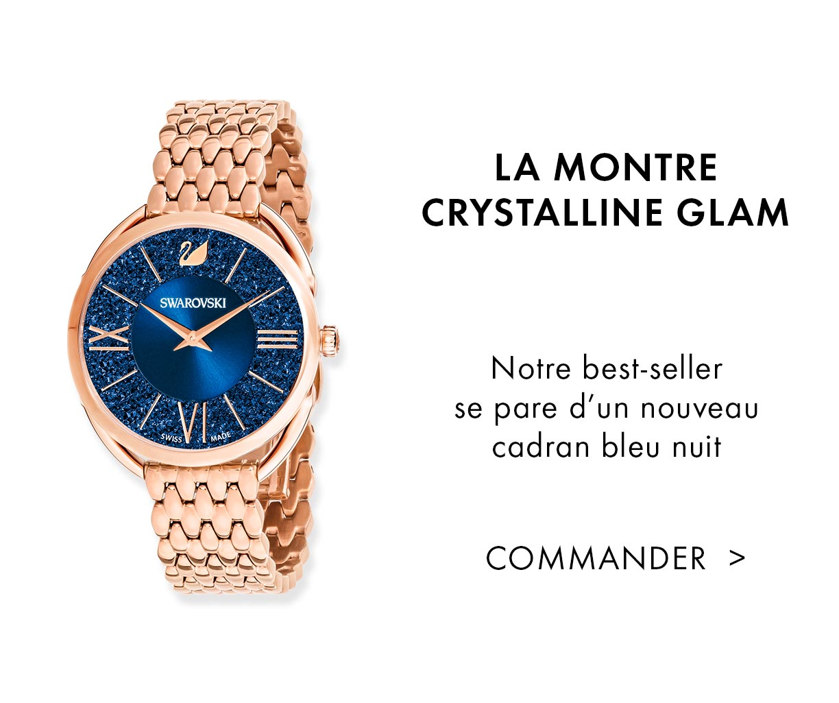 La montre Crystalline Glam