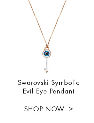 Swarovski Symbolic Evil Eye Pendant