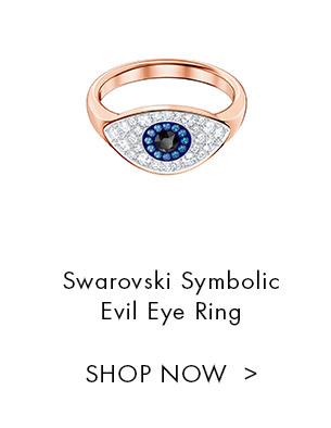 Swarovski Symbolic Evil Eye Ring