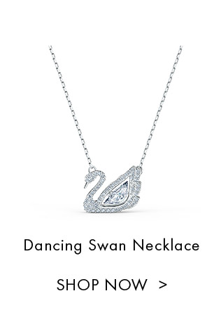 Dancing Swan Necklace