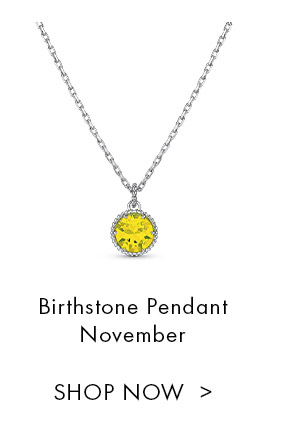 Birthstone Pendant November